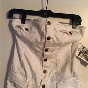 Button up jumpsuit